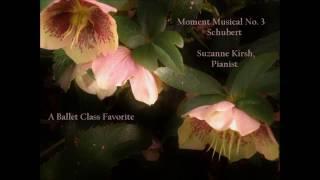 Schubert Moment Musical 3 Suzanne Kirsh Pianist