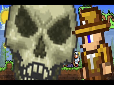 Terraria 1.3 - Как Легко Убить Хранителя Данжа? (БАГ!) - Dungeon Guardian Kill (Bug)