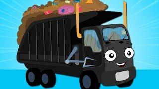 Wheels On The Garbage Truck Kindergarten Nursery Rhymes For Kids