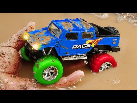 Fine Toys Construction Vehicles Looking for underground car | Toys for kids #2