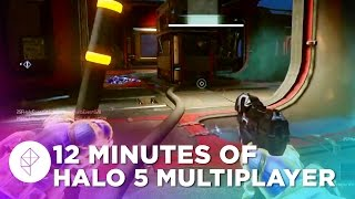 Halo 5 Multiplayer Gameplay: Capture the Flag (Fathom)