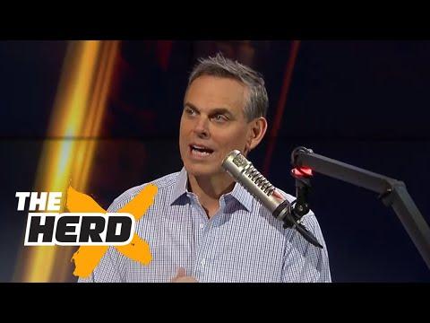 Under Armour CEO Kevin Plank joins Colin | THE HERD (FULL INTERVIEW)