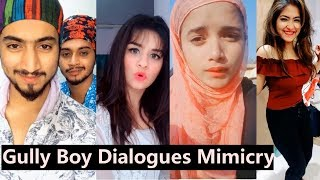 Gully Boy Dialogues Musically | Ranveer, Alia Bhatt, Avneet, Team 07