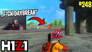 LYNDONFPS TWEETS TO H1Z1 TO UNFOLLOW HIM! H1Z1 - BEST ODDSHOTS & FUNNY MOMENTS #248