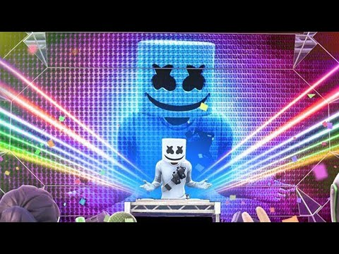 Le CONCERT de MARSHMELLO sur FORTNITE Battle Royale