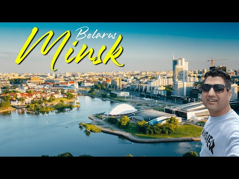 Minsk Belarus Travel VLOG || Beauty of Minsk in Europe