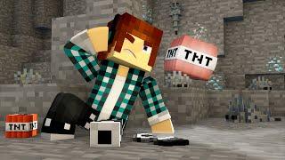 Minecraft : EXPLODI O DIAMANTE COM TNT !! (Corrida Pela Lã #02)