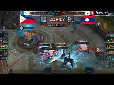 [AoV] Highlights LAO Vs. Philippines (Asian Game 2018)
