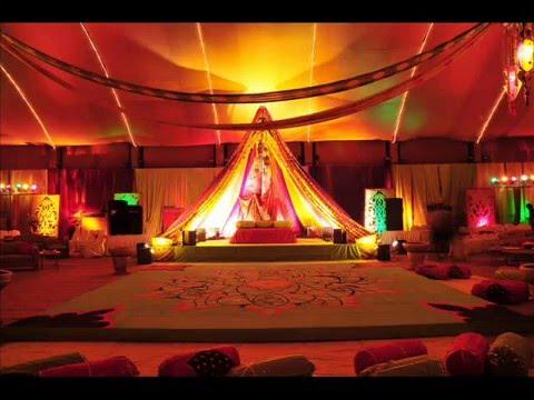 Wedding Mahndi Rasm E Hina Setup In Lahore Youtube