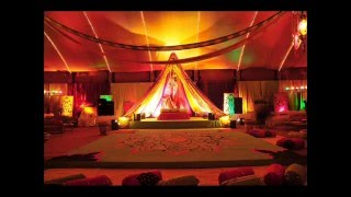 wedding mahndi (rasm e hina ) setup in lahore