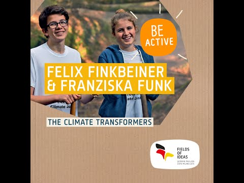 Felix Finkbeiner and Franziska Funk – The climate transformers (English)