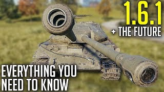 Everything New in 1.6.1 + Future Updates and Tanks! | World of Tanks Update 1.6.1 News
