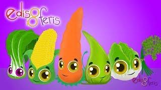 Sebzeler Meyveler ve Edis & Feris ile 30 Dakika Çocuk Şarkıları Dinle