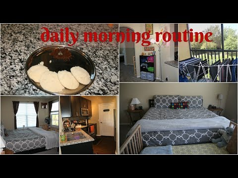 indian SAHM daily morning routine