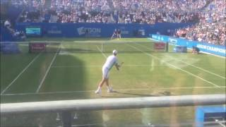 Tomas Berdych vs Denis Shapovalov - Court Level Highlights - Queen