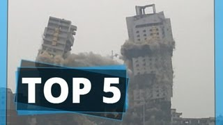Fire in the hole: Five of the best building demolitions