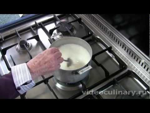 Заварной крем  - Рецепт Бабушки Эммы