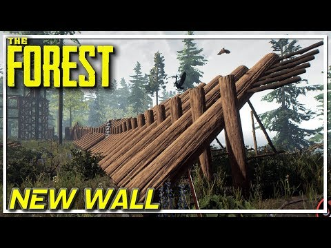 The Forest - New Wall - The Forest Let's Play GamePlay - EP22