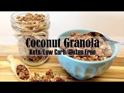 Coconut Granola Keto, Low Carb & Gluten Free