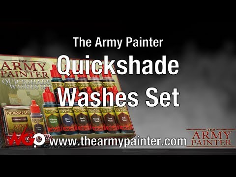 NEW The Army Painter Quickshade Washes Set