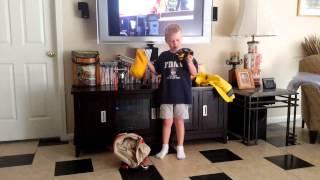 Rescue Riley brush fireman gear