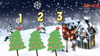 Three Christmas Trees | Christmas Songs for Kids | Children Nursery Rhyme | ZedKids