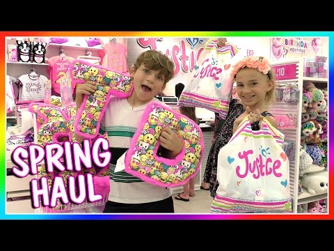 OUR SPRING CLOTHING MALL HAUL | We Are The Davises