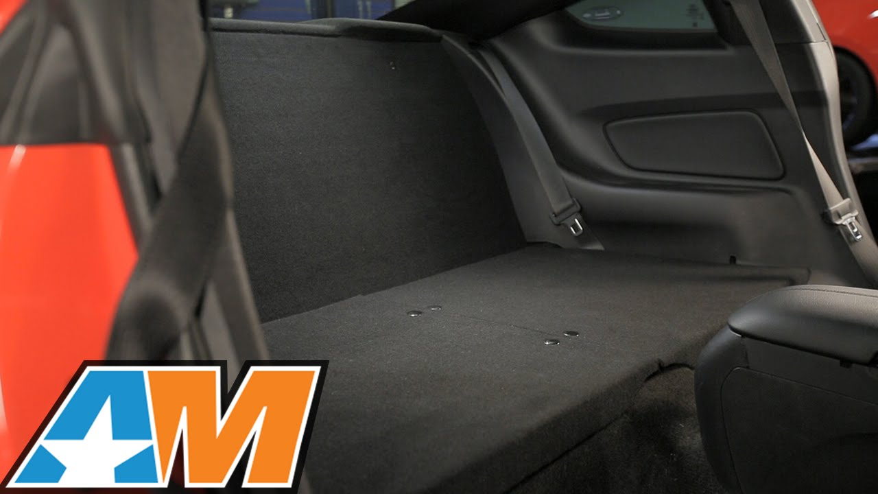 2015 2017 mustang rear seat delete black review install youtube