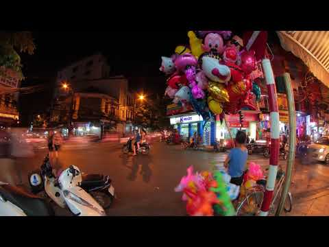 Hanoi Balloon Vendor Timelapse