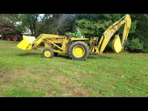 1972 Ford 4500 Industrial Backhoe