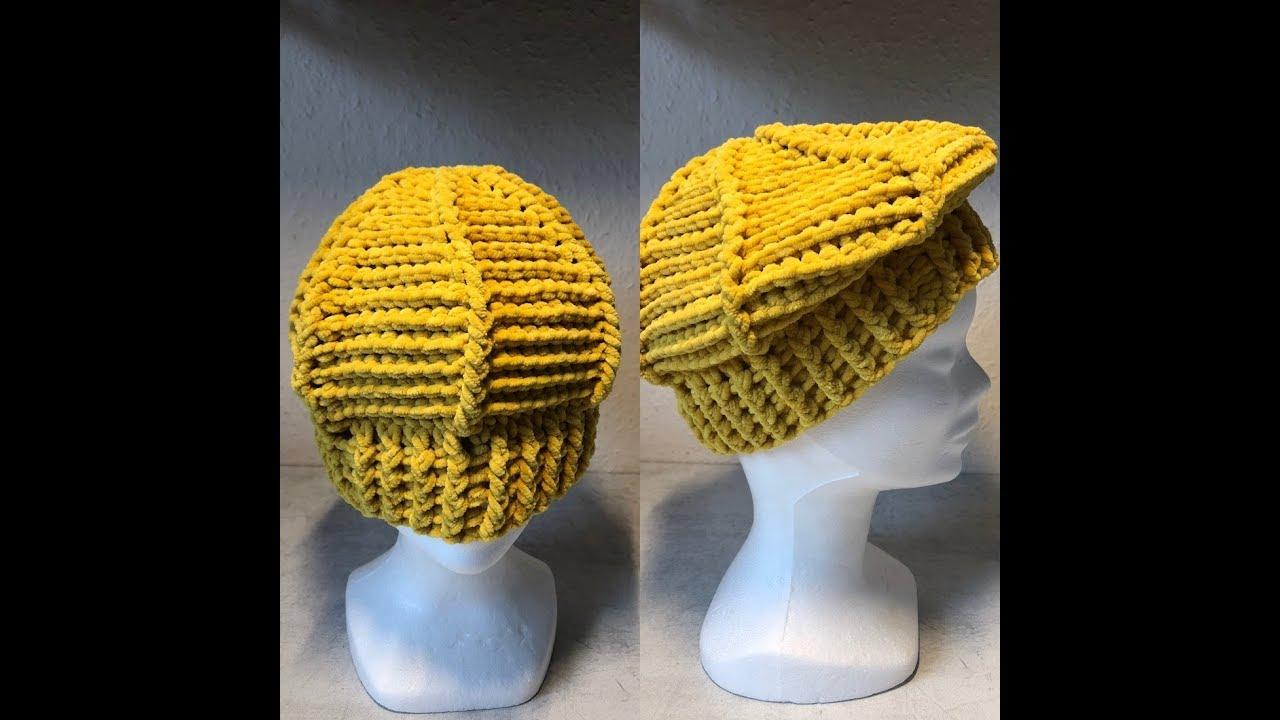 Tuto Beret Bonnet Au Crochet Youtube