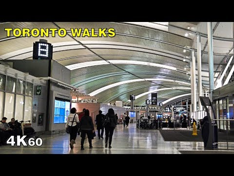 Toronto Pearson Airport (YYZ) Terminal 1 International Departures Walk [4K]