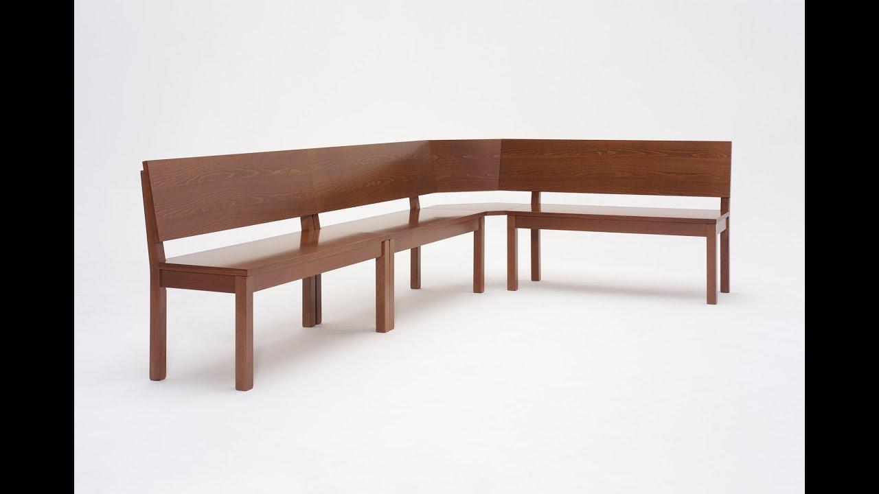 dining bench Grado - panca da cucina Grado - YouTube