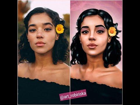 Диджитал Арт в Фотошопе | Digital Art in Photoshop | Tashi Rodriguez ART