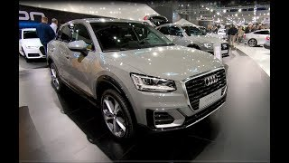 AUDI Q2 DESIGN 30 TFSI ULTRA SUV MODEL 2018 WALKAROUND + INTERIOR QUANTUM GREY