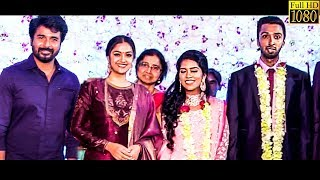 FULL VIDEO: Sivakarthikeyan, Keerthy Suresh & Many Celebrities Attend Manobala Son's Wedding!!