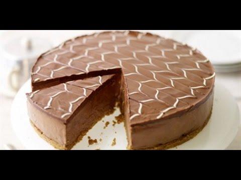 Chocolate Covered White Chocolate Cheesecake   CAKE RECIPES   WORLD'S FAVORITE RECIPES   HOW TO MAKE