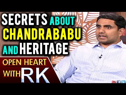 Nara Lokesh Reveals Secrets About CM Chandrababu Naidu And Heritage | Open Heart With RK | ABN