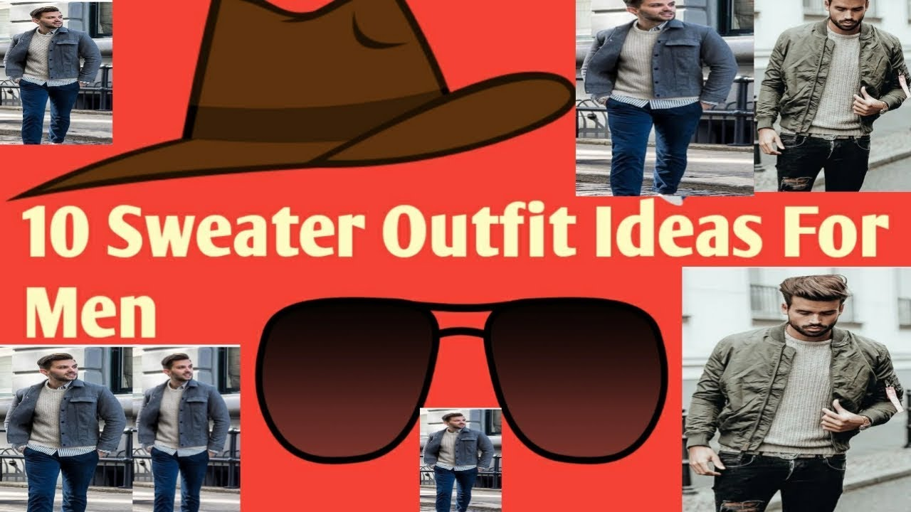 [VIDEO] - 10 Sweater Outfit Ideas For Men/Winter Clothing Tips For Indian Man/Jumper Outfit Ideas 2019 _20. 2