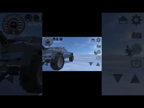 Canavar Araba  Oyunu  Kar Testi