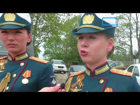Как Вольск встречал участниц парада Победы