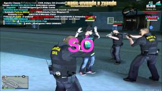 MTA-SA - Policia Civil persegue jovem suspeito de roubar 1 real de sua mae !