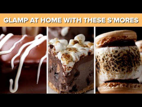 11 S'mores For Glamping At Home