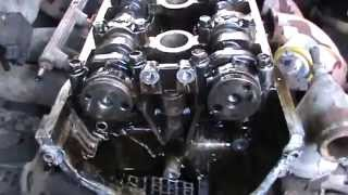Замена поршневой в 406 ЗМЗ без снятия двигателя 1