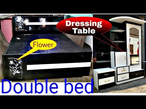 Double Bed 24500 || Bed Design || Storage Bed || Box Bed || Lucknow Furniture || Modern Bed Design