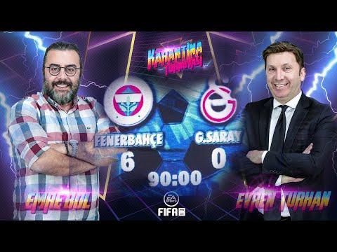İntikamı çok Acı Oldu! Evren Turan Vs Emre Bol | FIFA | Fenerbahçe - Galatasaray 🎮