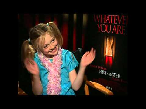 My first interview with cutie Dakota Fanning 2005