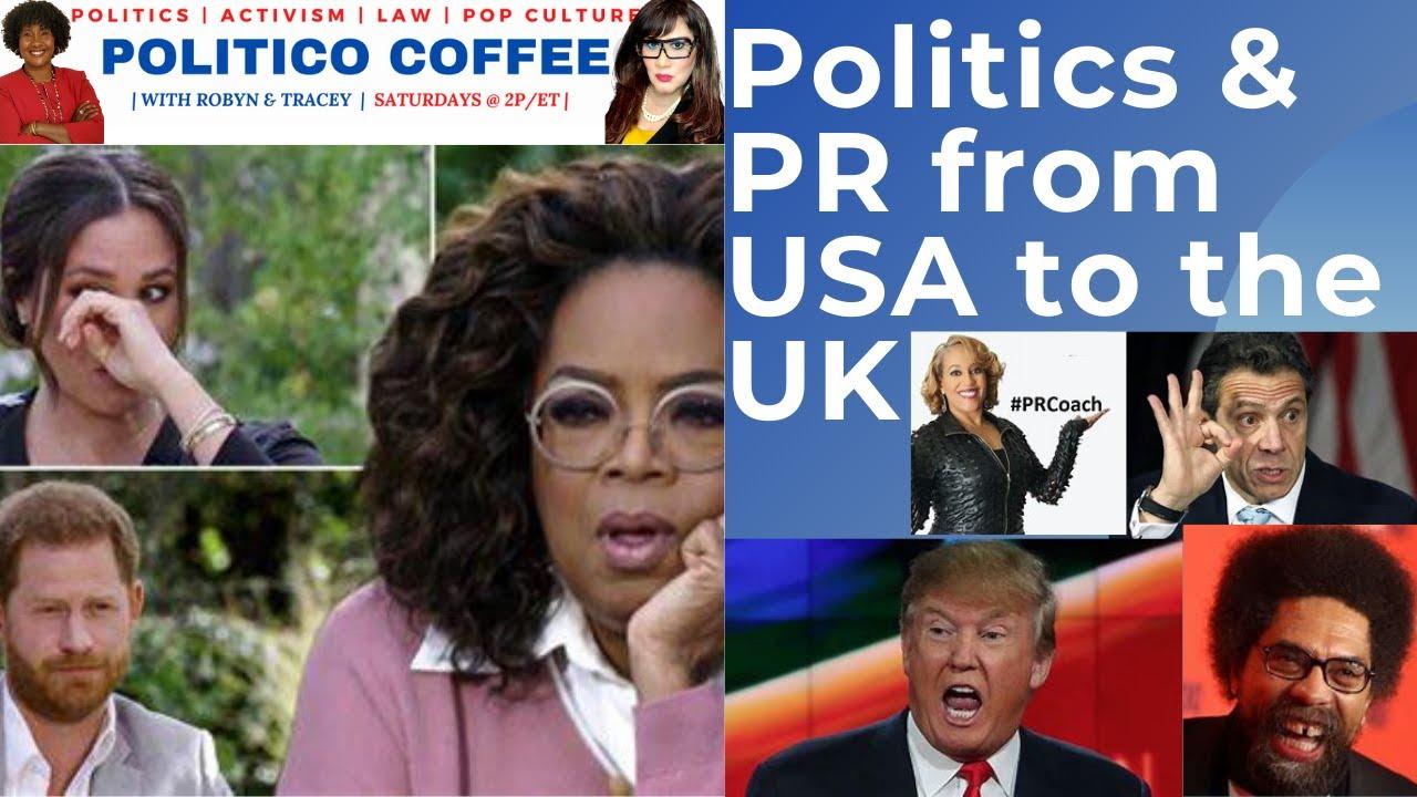 Politico Coffee featuring PR Guru, Pam Perry.