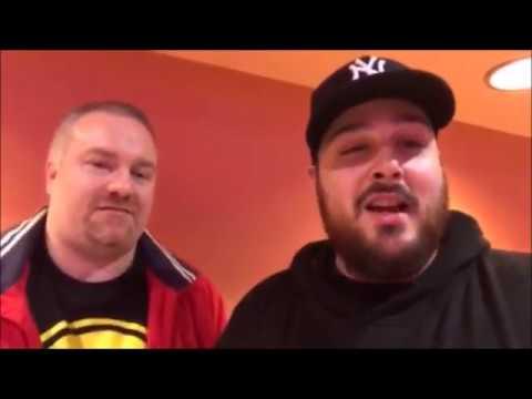 BOF's Pete Vera & Eric Holzmann Post-JUSTICE LEAGUE Screening - New Brunswick, NJ