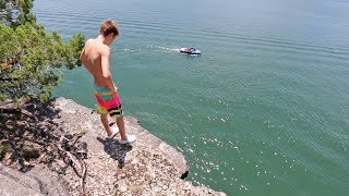 BEST CLIFF JUMPING SPOT EVER!